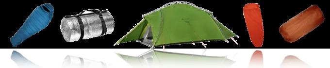 Ausrüstung Camping