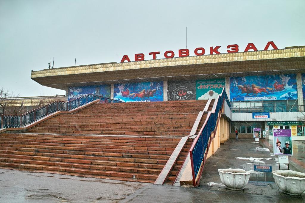 Bishkeks monumentaler Busbahnhof