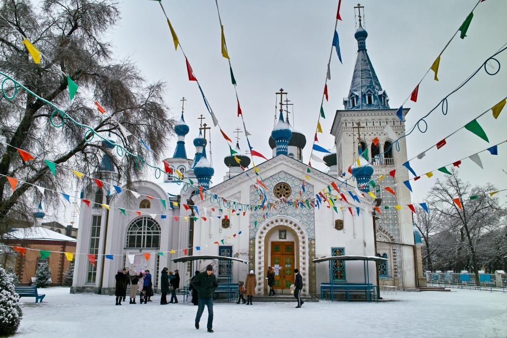Russisch-orthodoxe Kirche Dschibek Dscholu