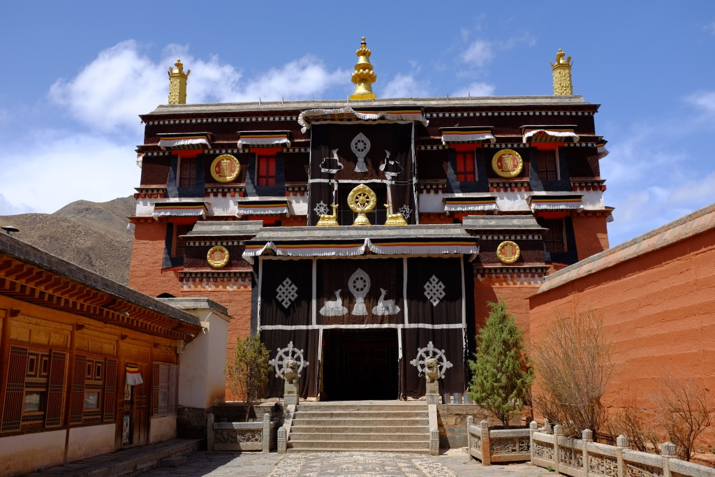 Kloster in Labrang.