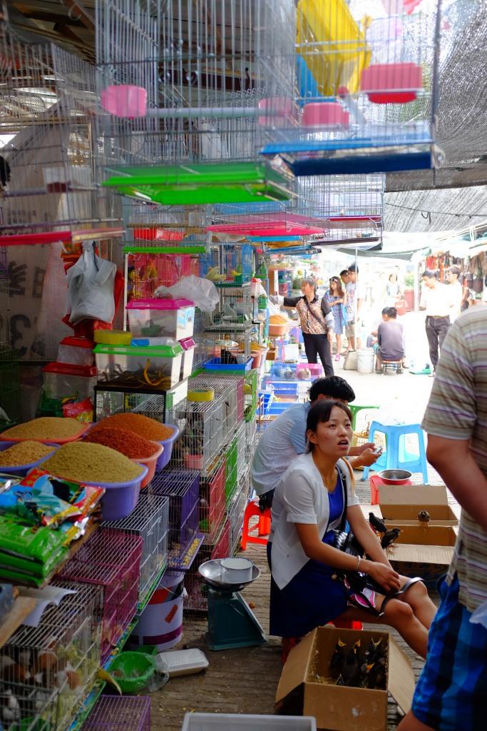 Der Blumen und Vogelmarkt