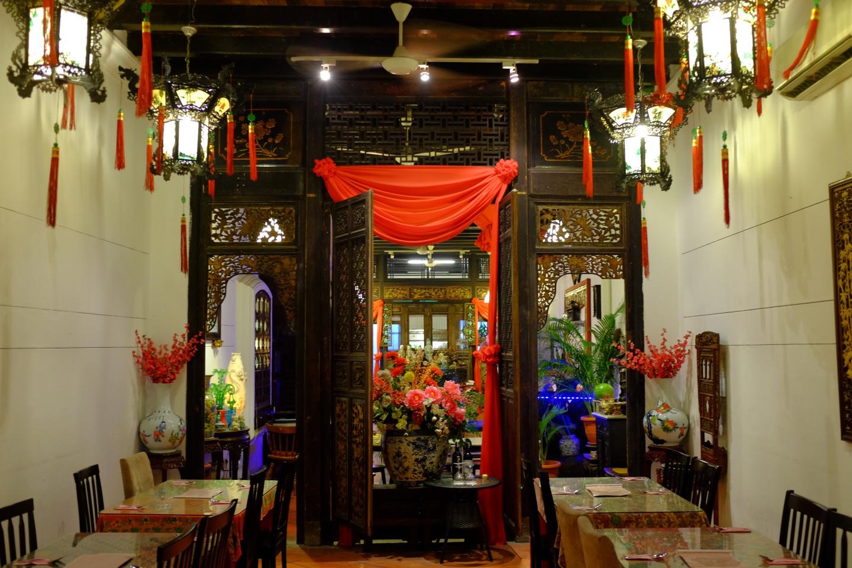 Unser Hotel - chinesischer als China.