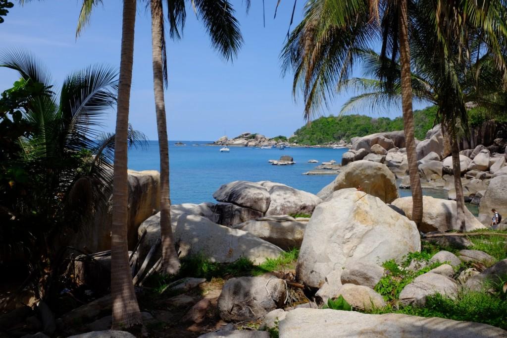 Im Paradies auf Koh Tao.